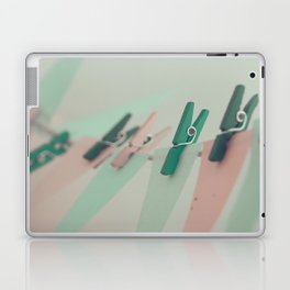 on the line Laptop & iPad Skin