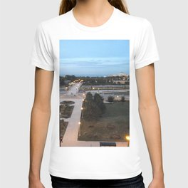Chicago, Across the Park to Lake Michigan, Sunset T-shirt