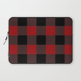 Red Buffalo Plaid Laptop Sleeve