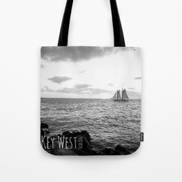 Southernmost Sunset Tote Bag
