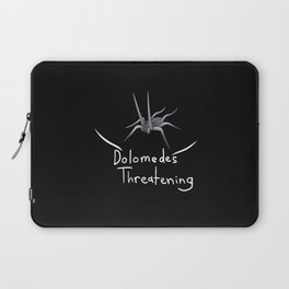 Dolomedes Threatening Logo Shirt Laptop Sleeve