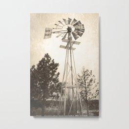 David Bradley Windmill Metal Print