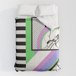 AMPS Deux - Abstract, Marble, Pastel, Stripes Comforters