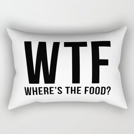 WTF Rectangular Pillow