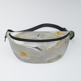 Flowers of White Fanny Pack