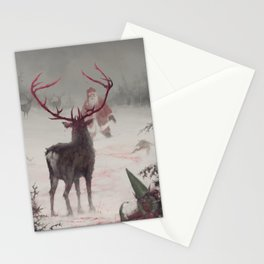 Rudolph uprising Stationery Cards