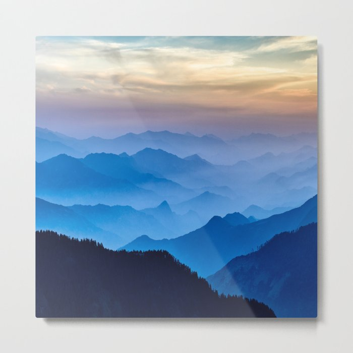 Mountains 11 Metal Print