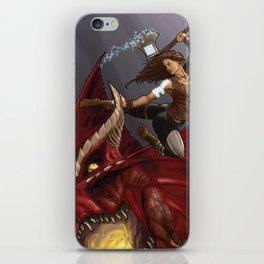 Dragon Slayer iPhone Skin