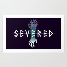 Severed Logo Art Print