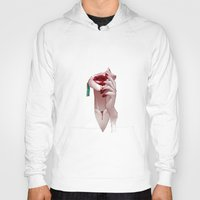 vampire diaries Hoodies featuring Vampire by Kimball Gray