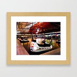 Bumper Cars Framed Art Print