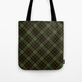 Scottish tartan #43 Tote Bag