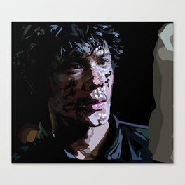 Bellamy Vector Portrait Canvas Print