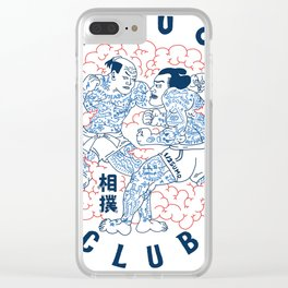 BAREKNUCKLES CLUB Clear iPhone Case