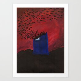 Time and Relative Dimension in Flight Art Print