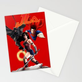 DC Trinity JLA Stationery Cards