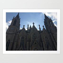 Chiesa in Italia Art Print