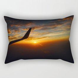 30,000 foot Sunset  Rectangular Pillow