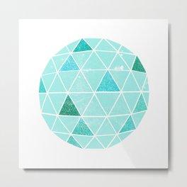 Geodesic 6 Metal Print