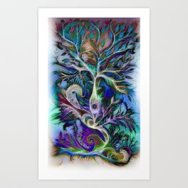 Tree of Life 2017 Art Print