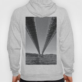 Under the Narrows Bridge, Washington Hoody