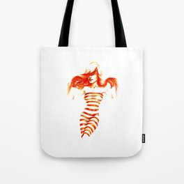 Fiery Water Faery Tote Bag