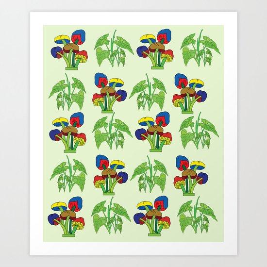 pttern 38 Art Print