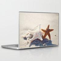 best friends Laptop & iPad Skins featuring Best Friends by Erin Johnson