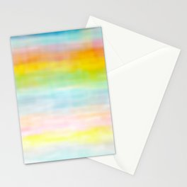Rainbow Gradient - tie dye loved by unicorns Stationery Cards