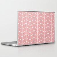 pun Laptop & iPad Skins featuring Kuvio vaal. pun. pohjalla by Ilona