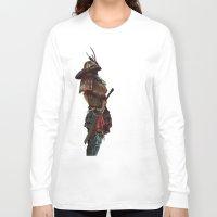 samurai Long Sleeve T-shirts featuring Samurai by Alba Palacio
