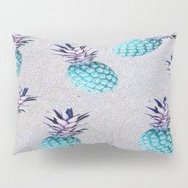Pine-apple Bleu Pillow Sham