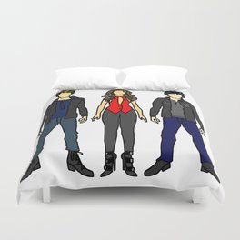 Outfits of Vamps Duvet Cover