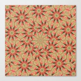 Beautiful day lily kaleidoscope Canvas Print