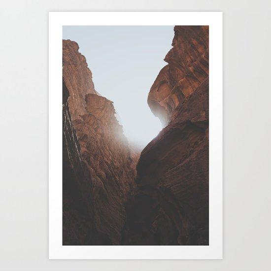 Wadi Rum VI Art Print