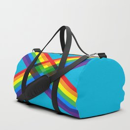 crossing rainbows Duffle Bag