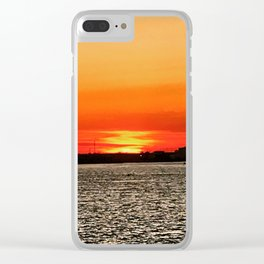 Inferno of the Ether Clear iPhone Case