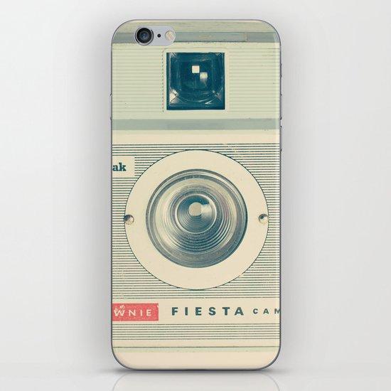 Fiesta - Beige Brownie Retro Vintage Camera iPhone & iPod Skin
