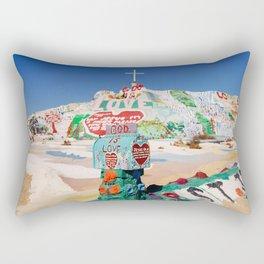 The colorful mountain Rectangular Pillow