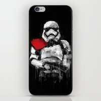 trooper iPhone & iPod Skins featuring Trooper by Rafal Rola