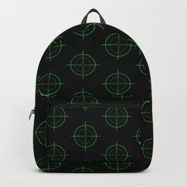 Gun Sight Crosshairs Backpack