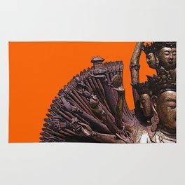 Quan Yin - Bronze Rug