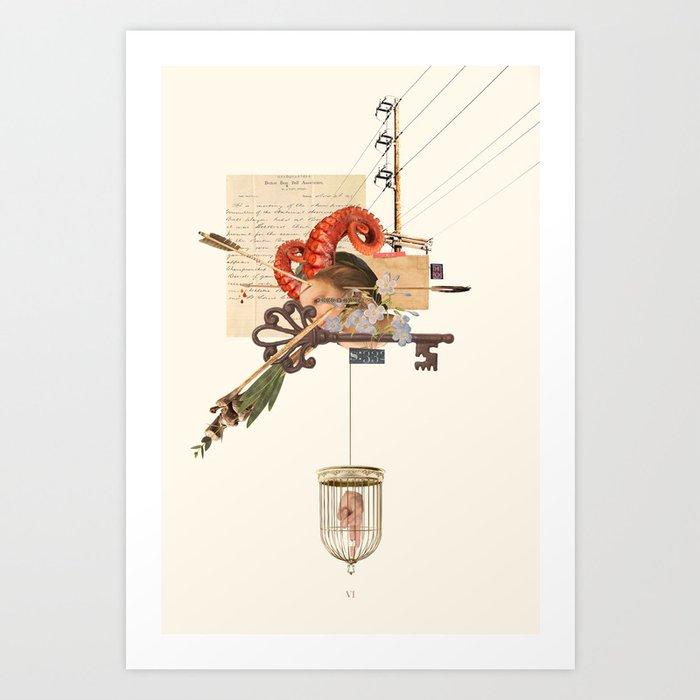 Octohorn / Horn Art Print