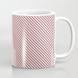 Dusty Cedar Stripe Coffee Mug