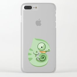 Baby chameleons Clear iPhone Case