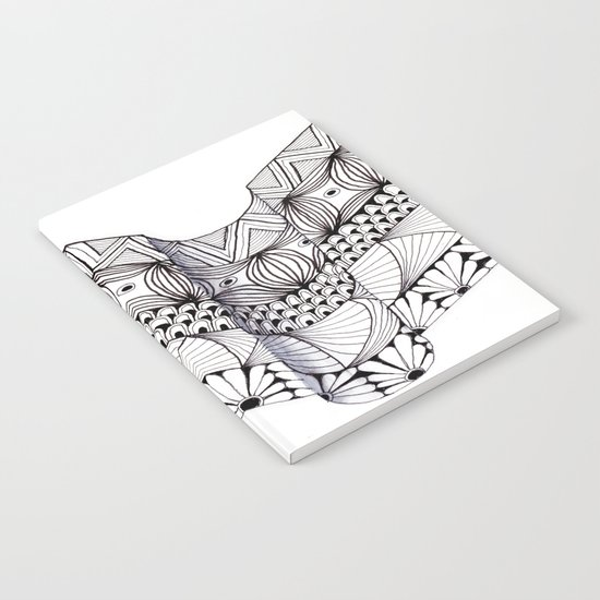 Zentangle Architectural Molding Notebook