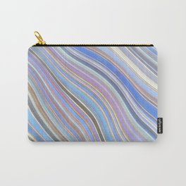 Wild Wavy Lines 25 Carry-All Pouch
