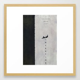Waiting for a Train - Inception Poster Framed Art Print
