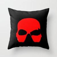 gamer Throw Pillows featuring Gamer by bau5