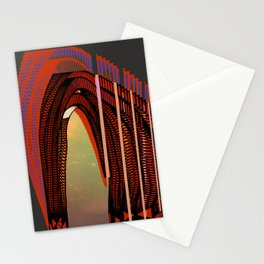 Entrance To The Unknown / Elephant 2 Stationery Cards